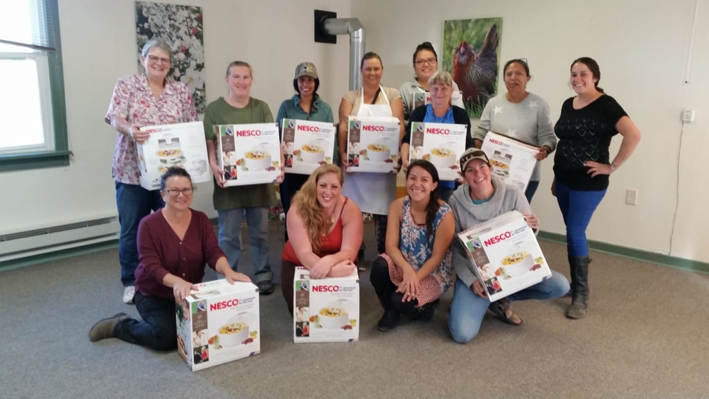 Mancos FoodShare cooking matters class